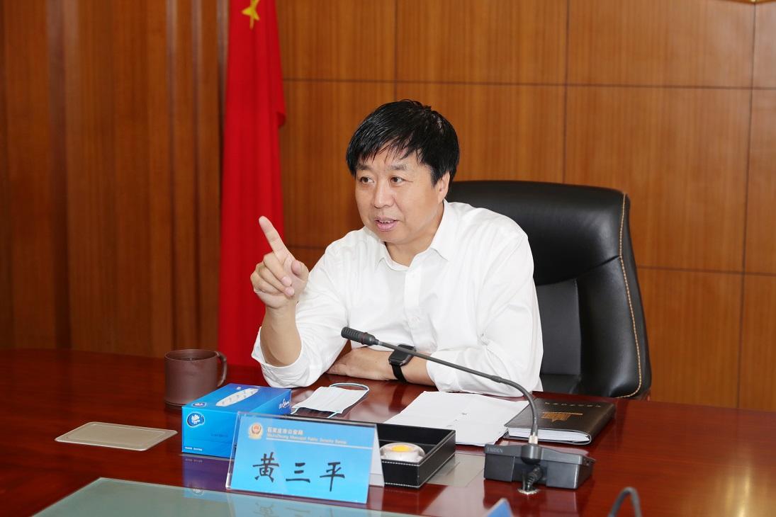 """黄三平同志对""""思政干部上一线""""工作提出新要求"""