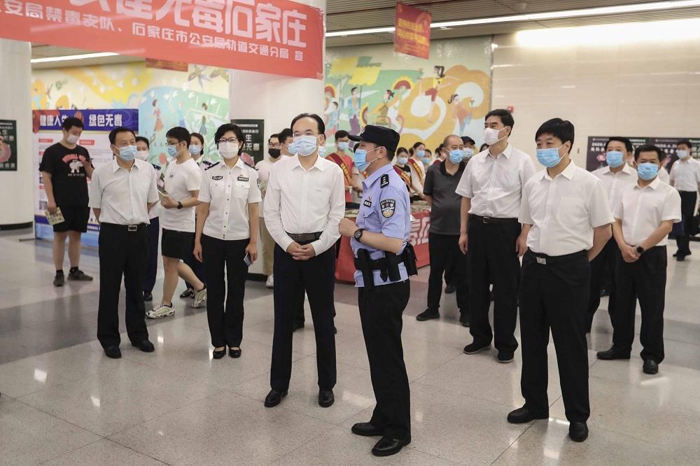 刘凯同志出席省会6.26国际禁毒日宣传活动